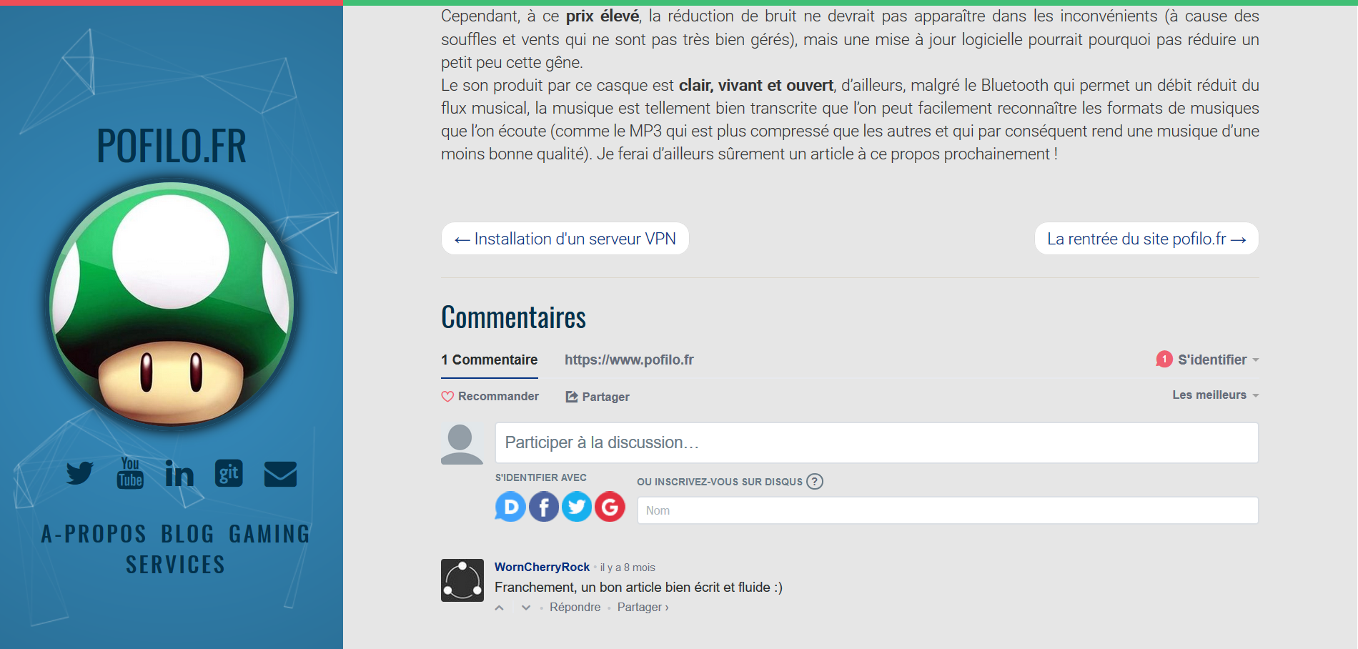 Anciens commentaires